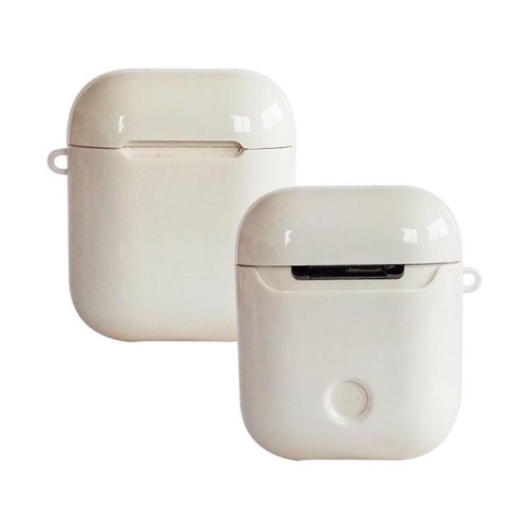 Защитный чехол для Apple Airpods, белый mooncase s линия мягкий силиконовый гель тпу защитный чехол гибкой оболочки защитный чехол для sony xperia e4 белый