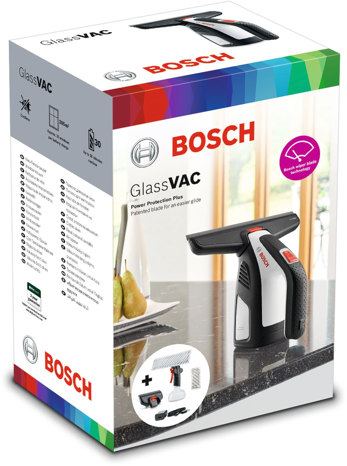 Стеклоочиститель Bosch GlassVAC Solo Bosch