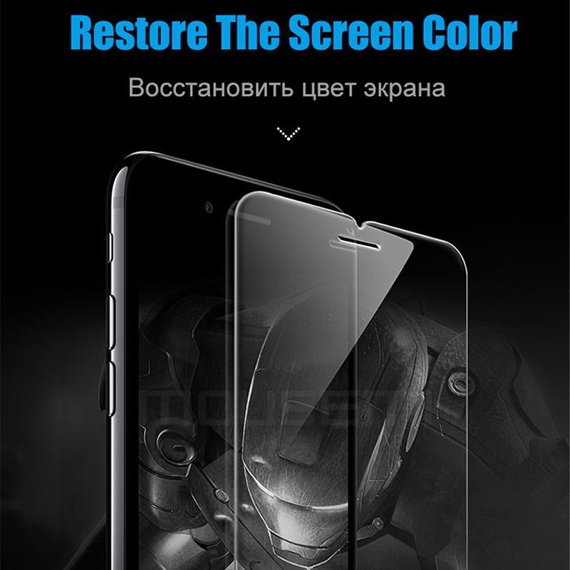 Защитное закаленное стекло для iPhone 5s 6 X 7 8 Plus