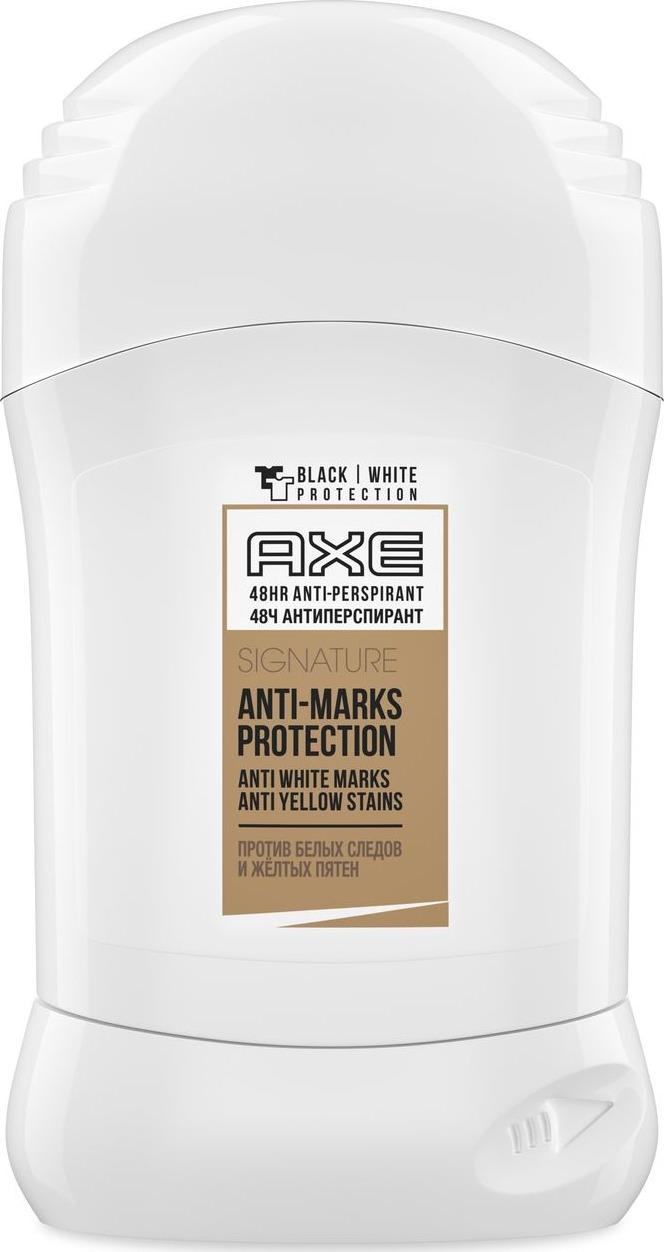 Axe Дезодорант-антиперспирант карандаш Защита от пятен, 50 мл