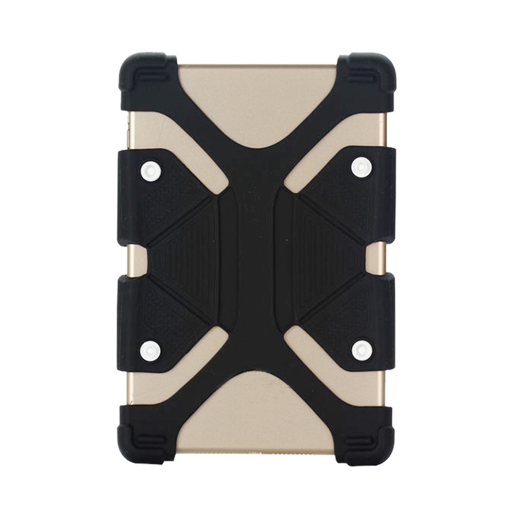 Fashionuooa Универсальный регулируемый мягкий силиконовый чехол для планшета 10-11 дюймов планшет 9 10 дюймов
