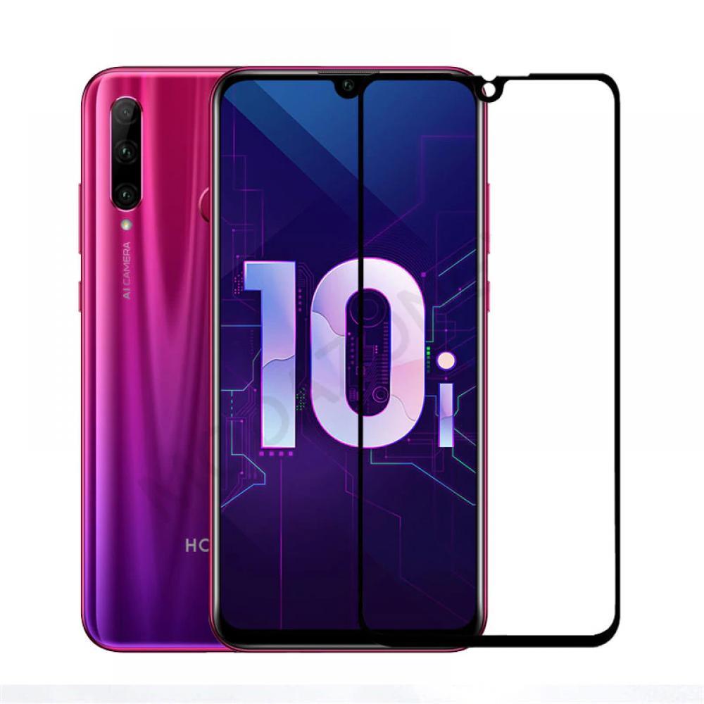 Полноэкранное защитное стекло для Huawei Honor 10i