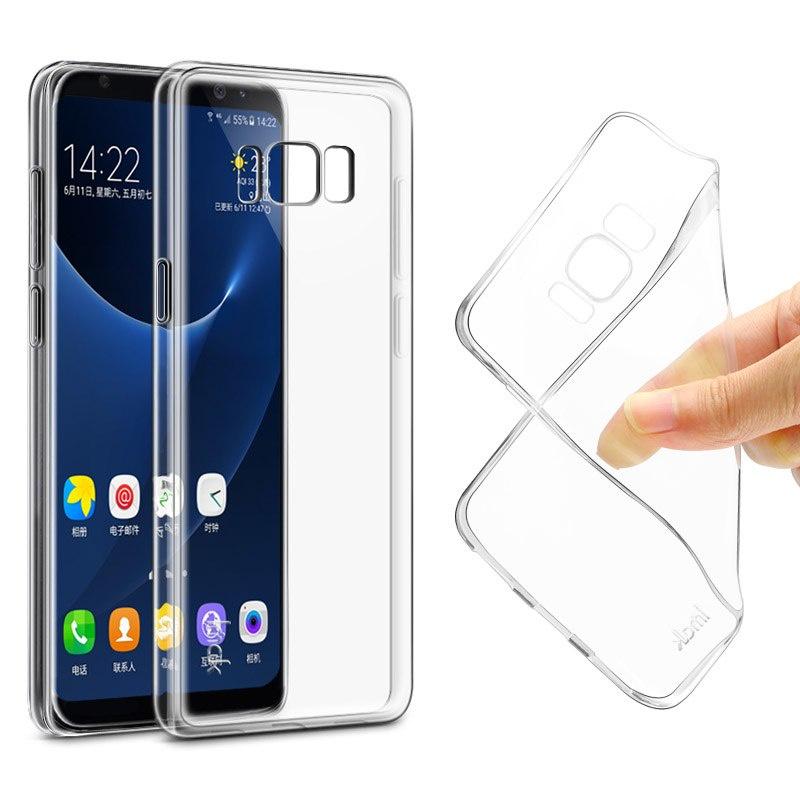 Силиконовый чехол Samsung Galaxy S8 Plus