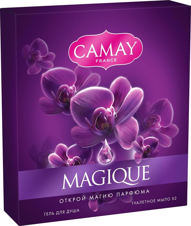 Подарочный набор Camay Magique camay мыло твердое динамик 4х75г