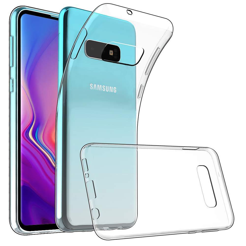 Силиконовый чехол для Samsung Galaxy S10 Plus Прозрачный