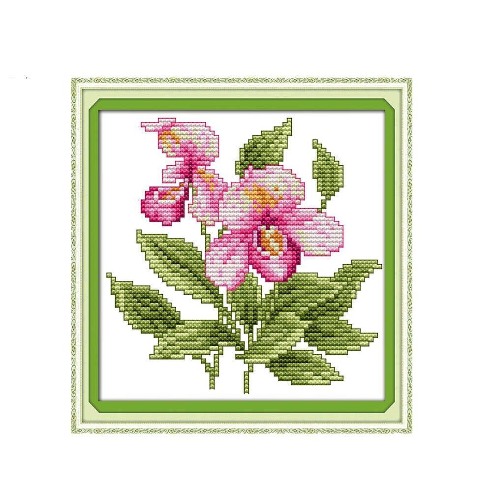 Набор для вышивания NKF The flower of happiness - 8