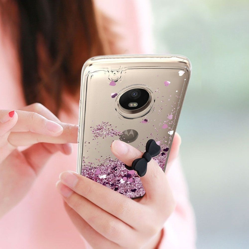 For Motorola Phone Case Fashion Cute Motion Liquid Quicksand Glitter Clear Soft TPU Cover балаклава kerry kerry ke014cbcnfb0