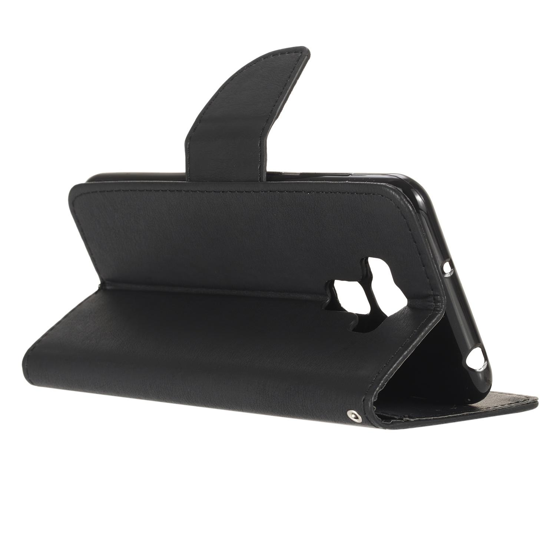 Asus Zenfone 3 Max Zc553kl Pu Кожаный чехол с флип-функцией и слотами для карт Чехол аксессуар чехол with love moscow для asus zenfone 3 max zc553kl кожаный black 10220