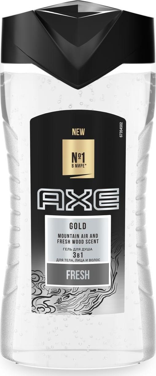 Axe гель для душа Gold, 250 мл
