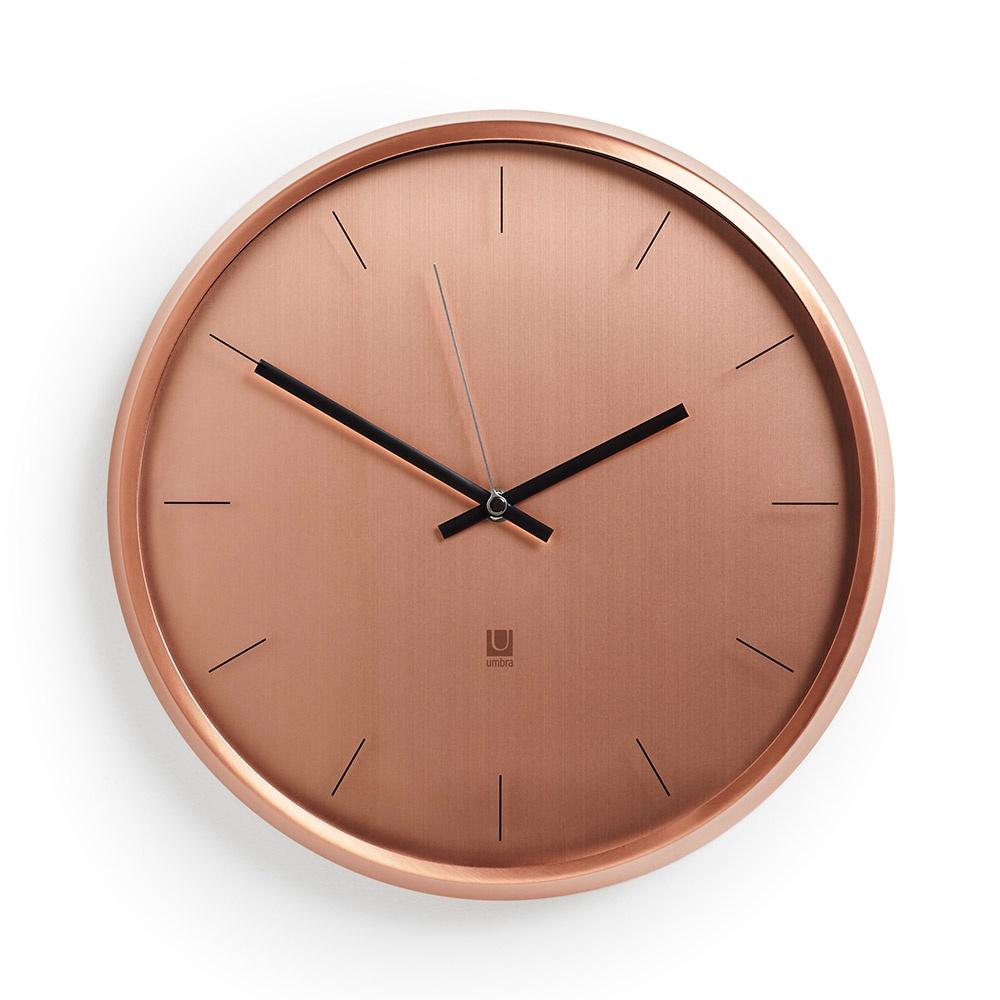 Настенные часы Umbra Часы настенные META медь все цены
