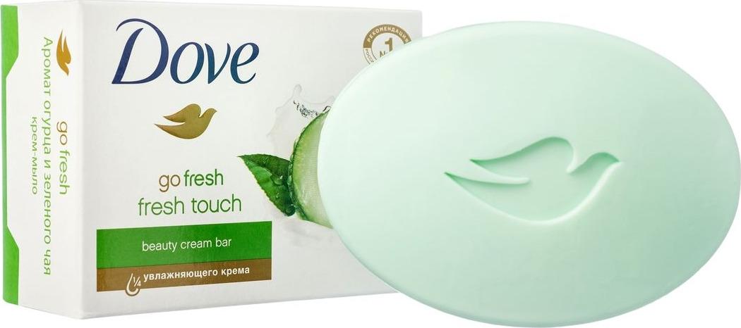 Dove Крем-мыло Прикосновение свежести 135 гр