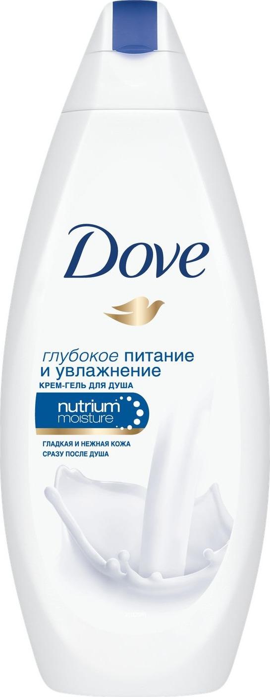 Гель для душа Dove Глубокое питание и увлажнение, 250 мл дав красота и уход