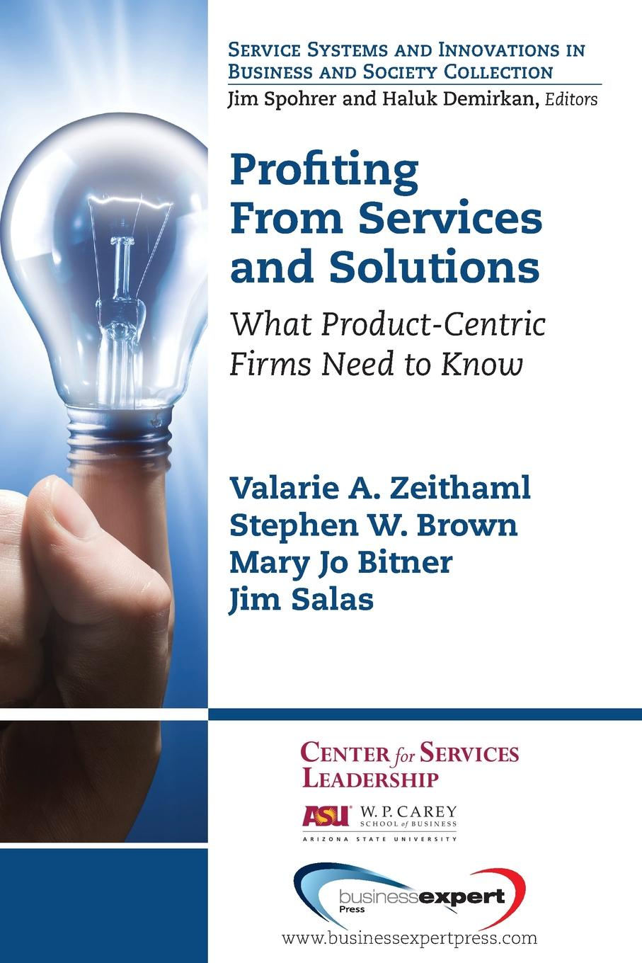 Valarie A. Zeithaml, Stephen W. Brown, Mary Jo Bitner Profiting from Services and Solutions. What Product-Centric Firms Need to Know keshra sangwal nucleation and crystal growth metastability of solutions and melts