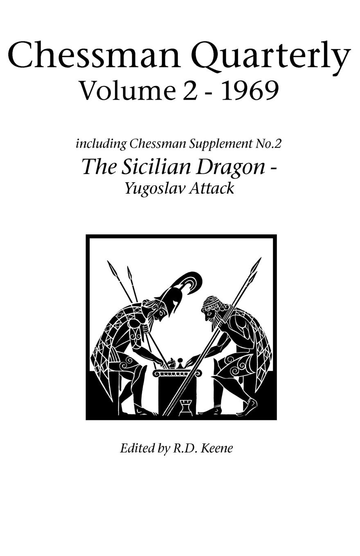Chessman Quarterly Volume 2 1969 cbr human friends chess black
