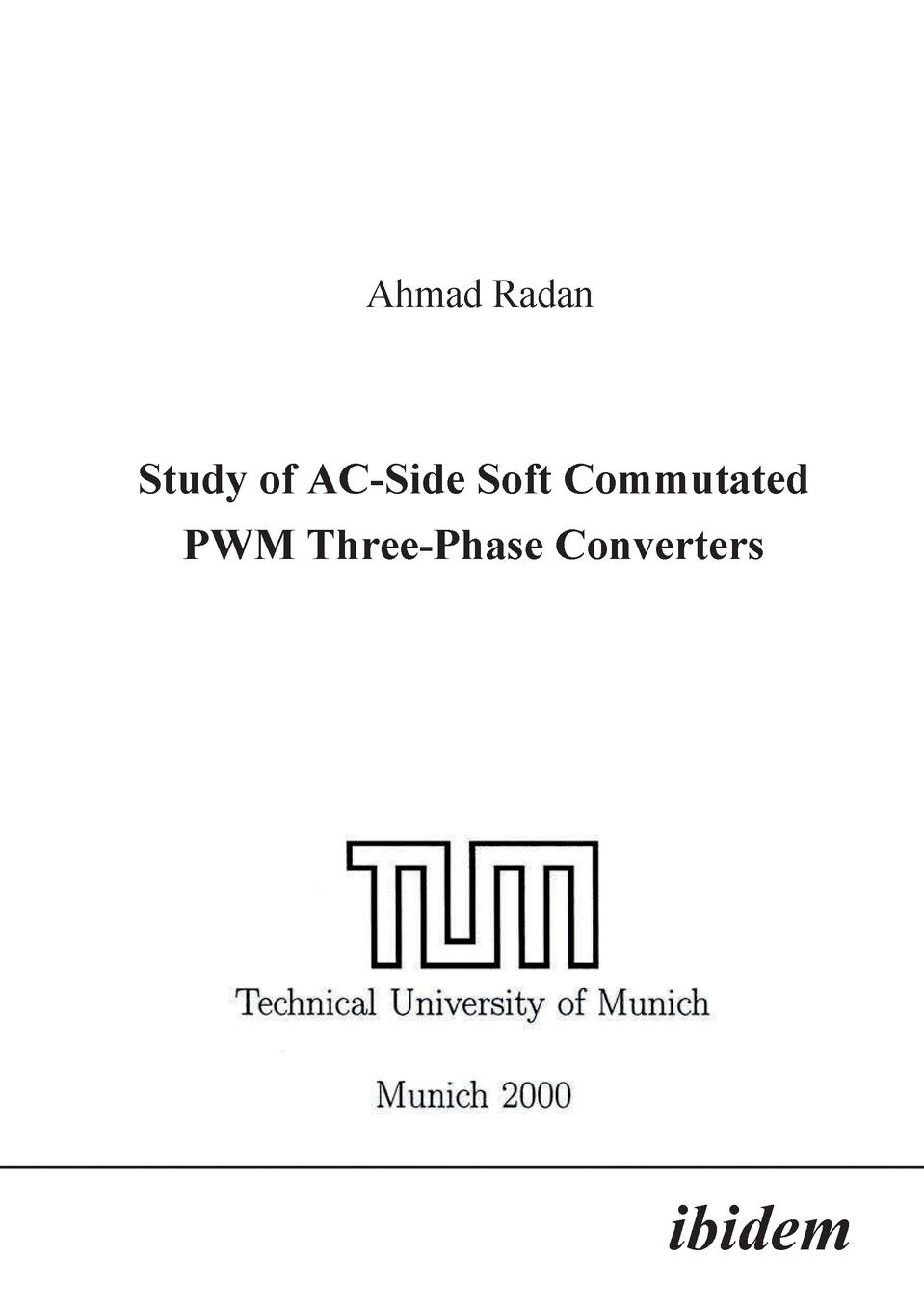 Ahmad Radan Study of AC-Side Soft Commutated PWM Three-Phase Converters. 10pcs lot richtek rt8120d rt8120 single phase synchronous buck pwm controller