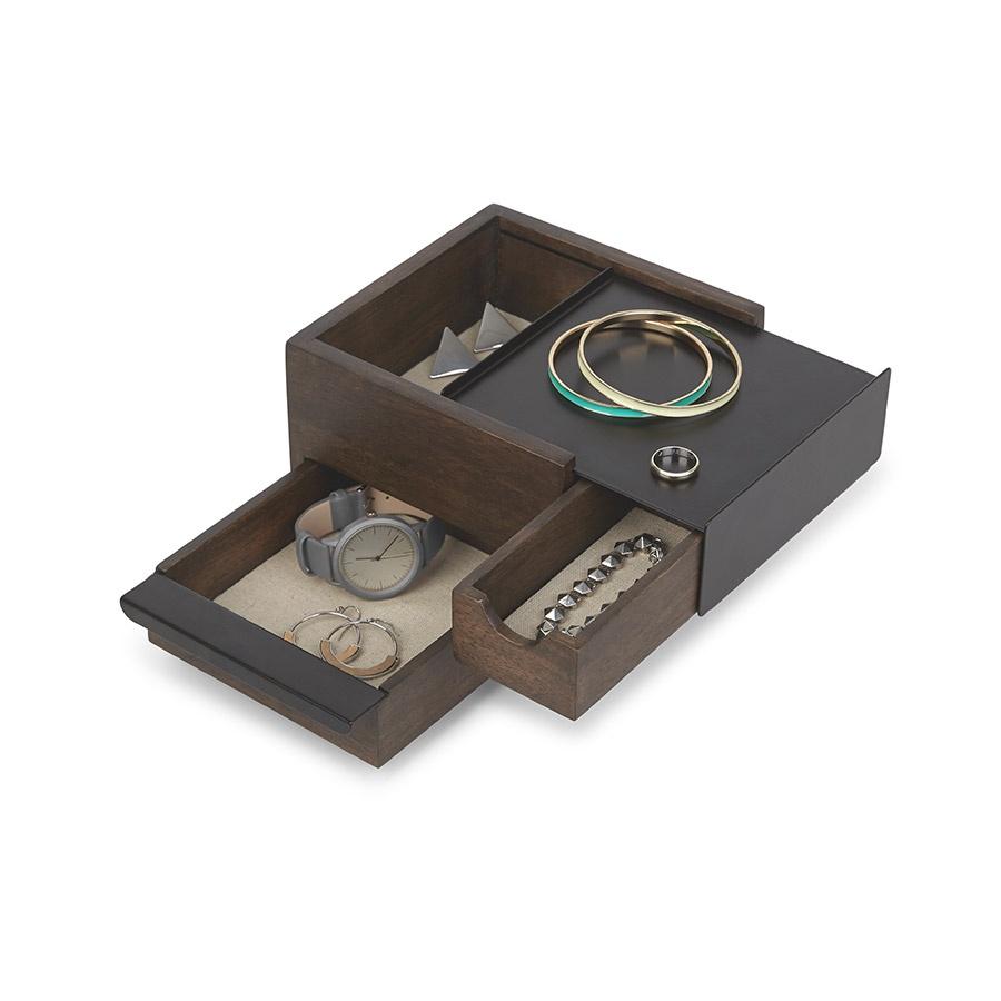 Шкатулка для украшений Umbra Stowit Mini чёрная шкатулка для украшений stowit umbra шкатулка для украшений stowit