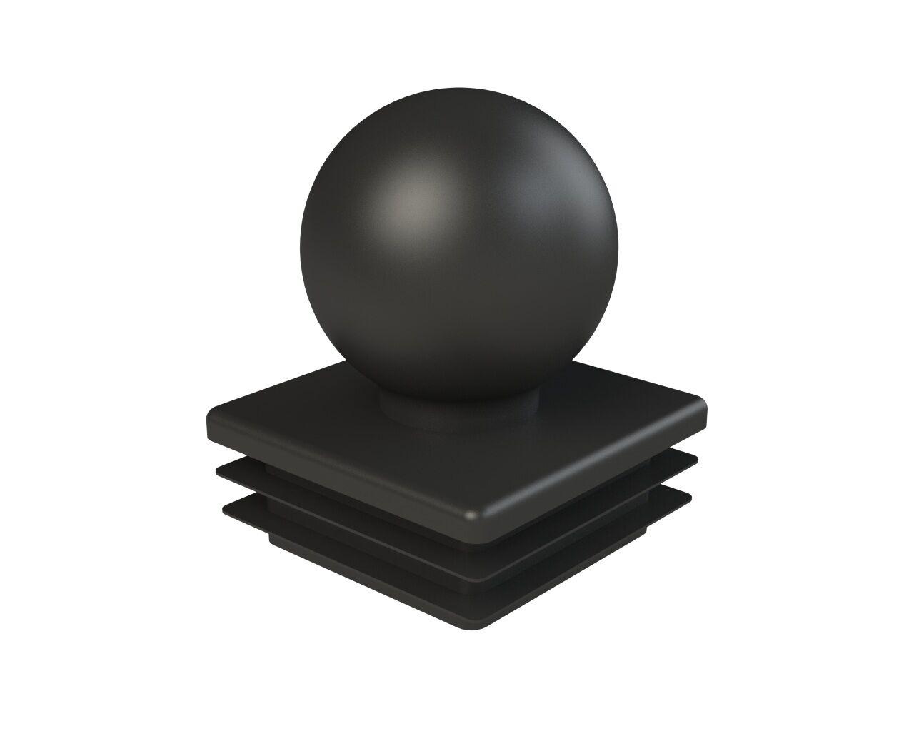 Фото - Заглушка пластиковая для профильной трубы 50х50мм., шар(15 шт.) набор роликов для профильной трубы 25 50 мм для трубогибов серии hb stalex 100942