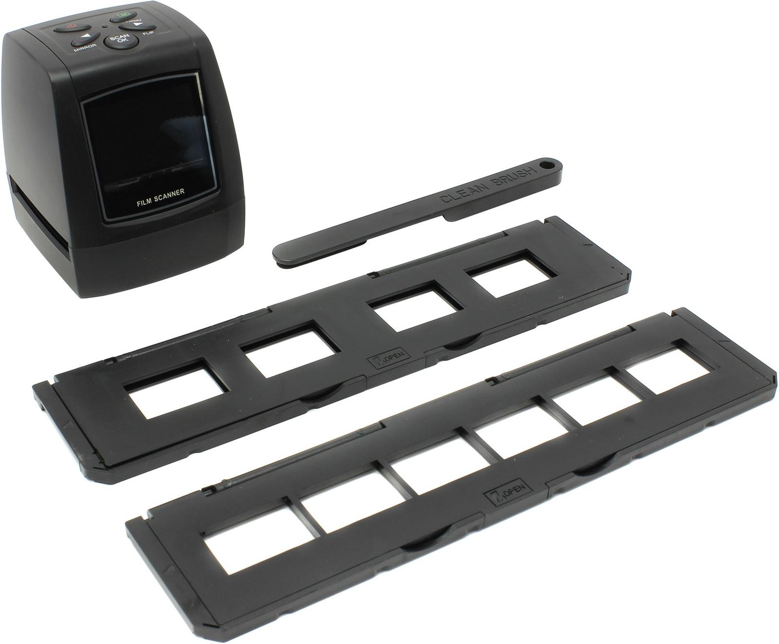 FilmScanner EC718, Espada ,Автономный компактный слайд-сканер с цветным LCD экраном - для пленок 35 мм и слайдов Espada