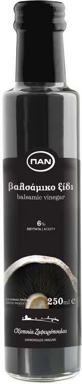 Уксус бальзамический ПАN, 6%, 250 мл уксус 5