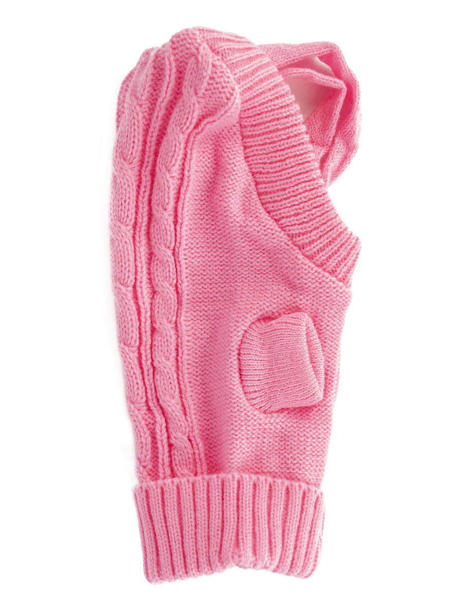 Комбинезон-свитер для животных розовый P0019-11-8 Удачная покупка Удачная покупка