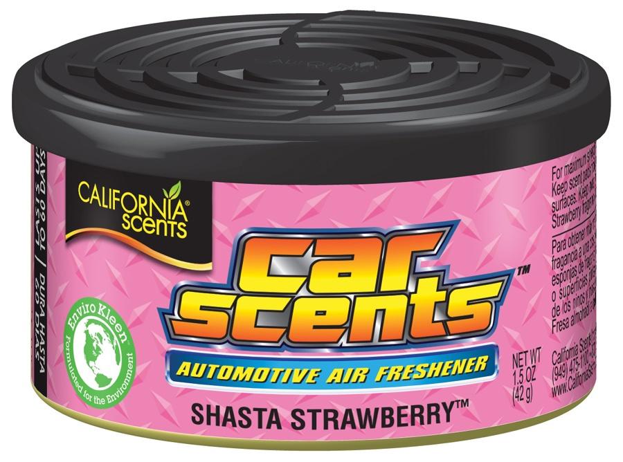 цена на California Scents CCS12 Ароматизатор Car Scents Air Freshener Земляника Шаста