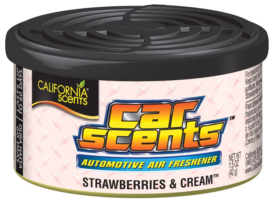 California Scents CCS301 Ароматизатор Car Scents Air Freshener Клубника со Сливками мыло нэфис лес полянка 5 75 гр клубника со сливками 932492