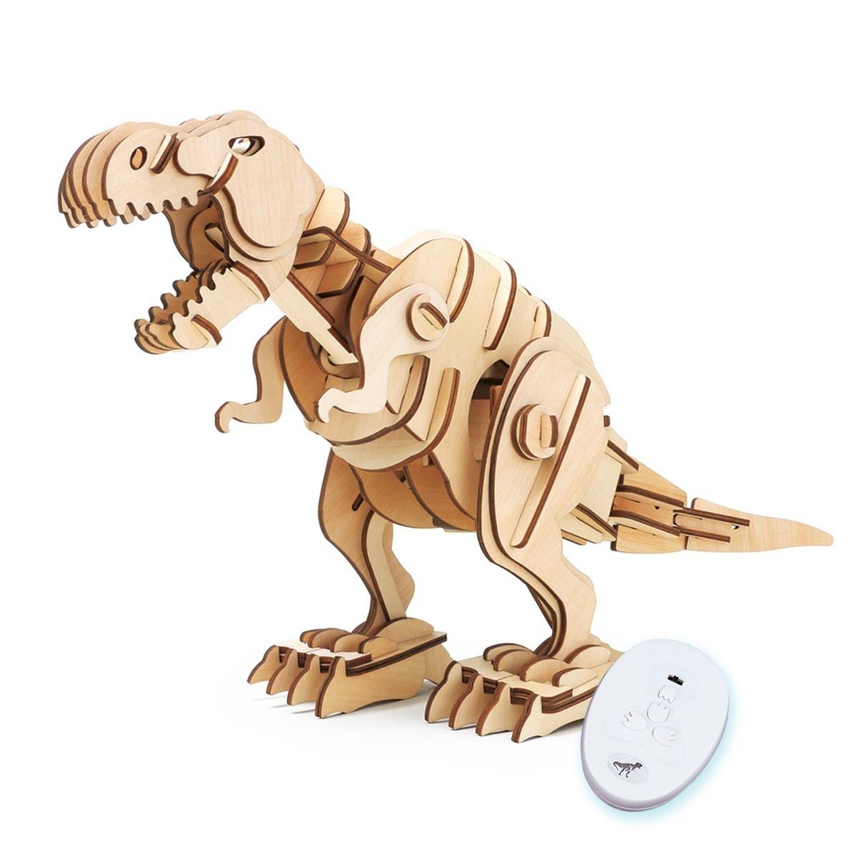 3D Деревянный конструктор T-Rex.