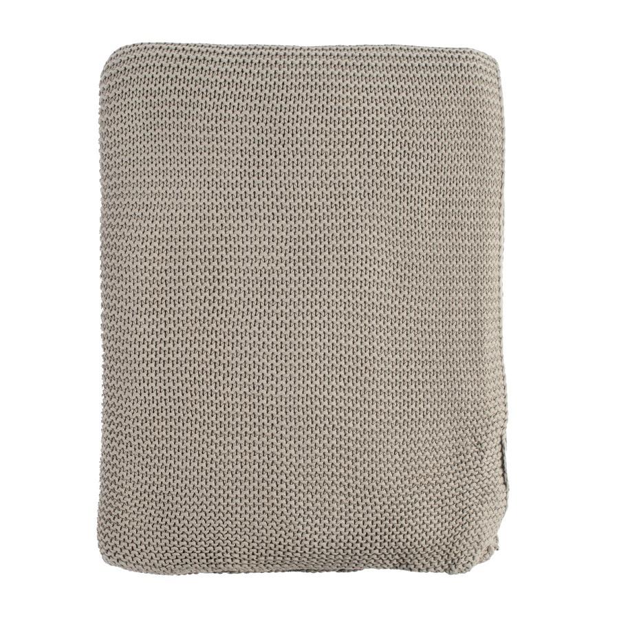 Плед Tkano Essential жемчужной вязки 220х180