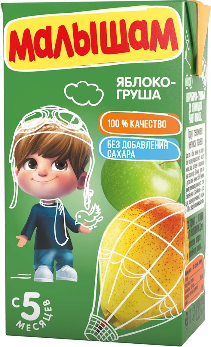 ФрутоНяня Малышам нектар из яблок и груш с 5 месяцев, 125 мл