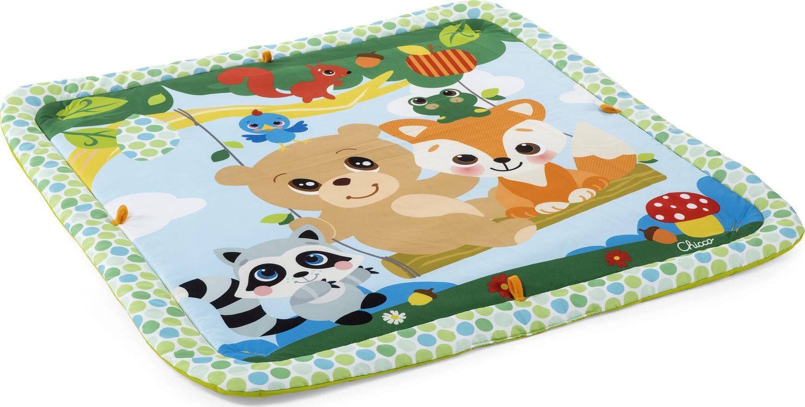Игровой коврик Chicco Magic Forest Relax & Play Gym Волшебный лес, 00009716000000 развивающий центр chicco волшебный замок принцесс disney