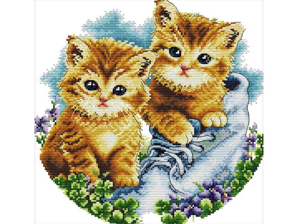 Вышивки крестом картинок котов