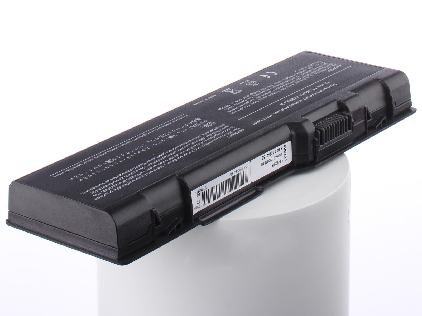 Аккумуляторная батарея AnyBatt 11-A1-1238 4400mAh для ноутбуков Dell D5318, G5260, F5132, U4873, C5974, B-5022, C5447, 312-0349, G5266, цена в Москве и Питере