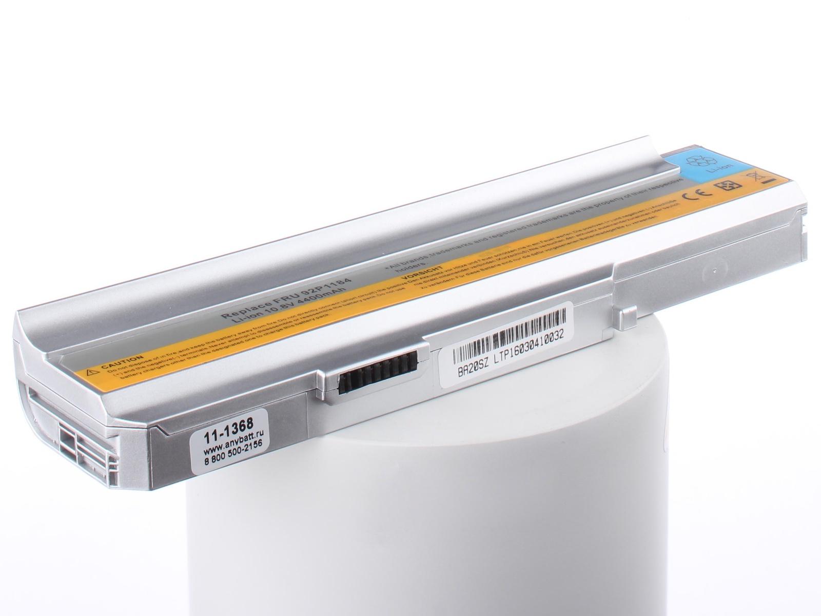 Аккумуляторная батарея AnyBatt 11-A1-1368 4400mAh для ноутбуков iBM-Lenovo 40Y8315, 40Y8322, 40Y8317, аккумуляторная батарея lenovo thinkpad battery 68 6cell для ноутбуков lenovo x240 t440 t440s 0c5286