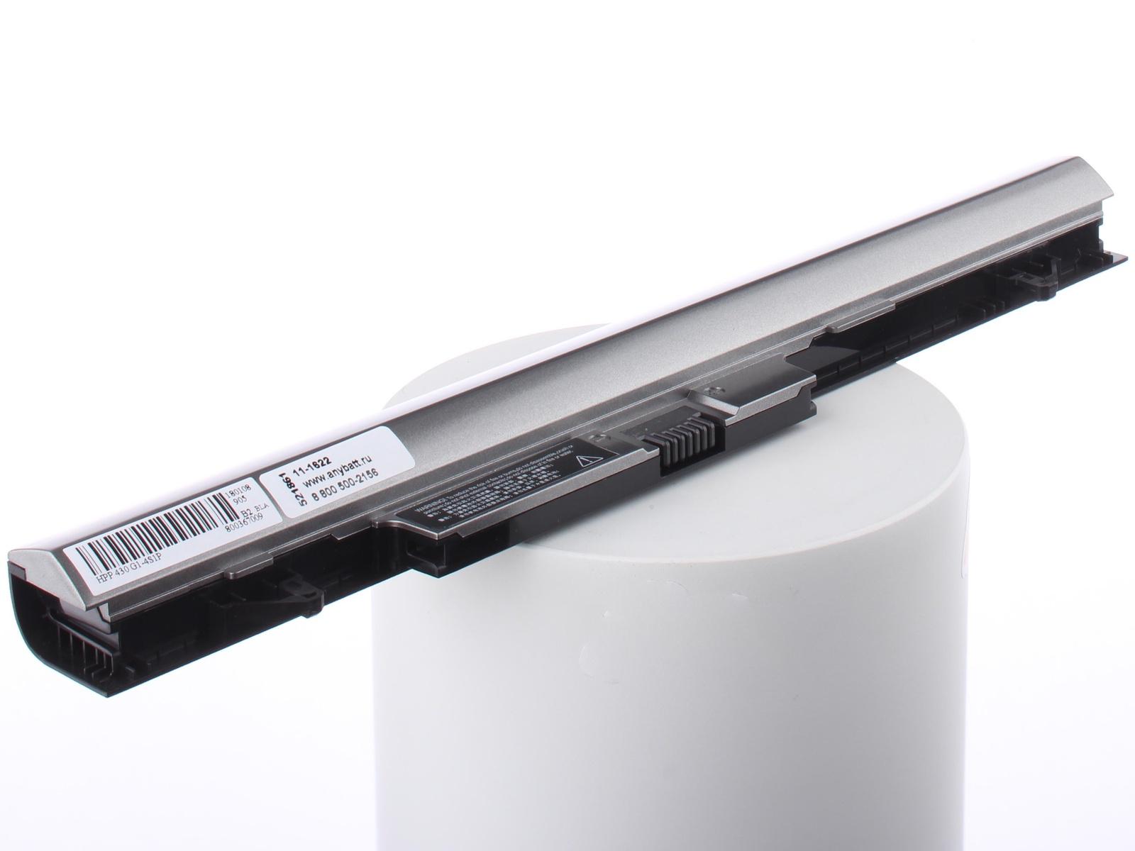 Аккумуляторная батарея AnyBatt 11-A1-1622 2200mAh для ноутбуков HP-Compaq RA04, H6L28AA, 707618-121, windows 7 для ноутбуков hp