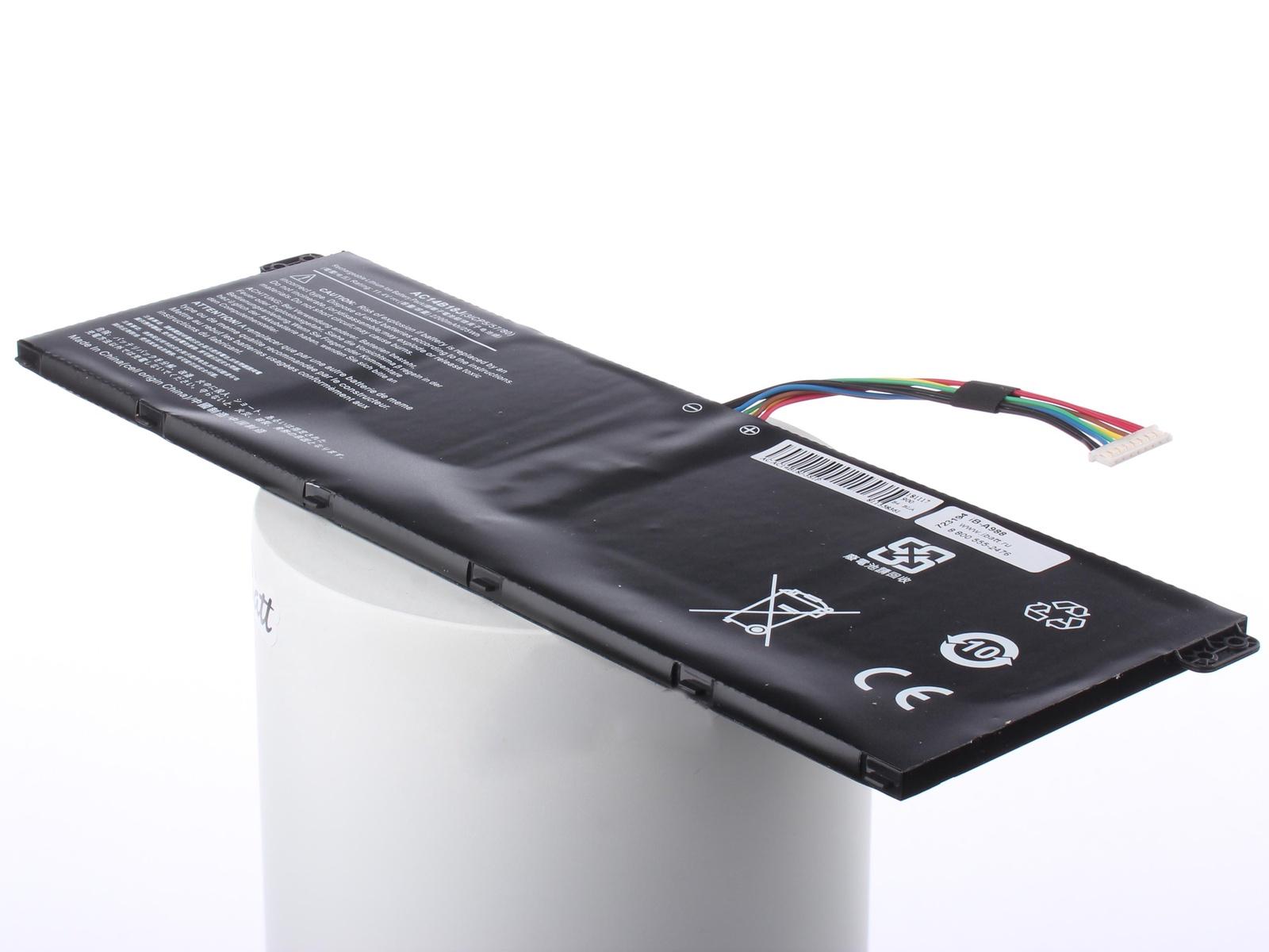 Аккумуляторная батарея iBatt iB-A1-A988 3220mAh для ноутбуков Acer, Packard Bell AC14B13J, iB-A988, KT. 00303. 016, 3INP5/60/80, iBatt