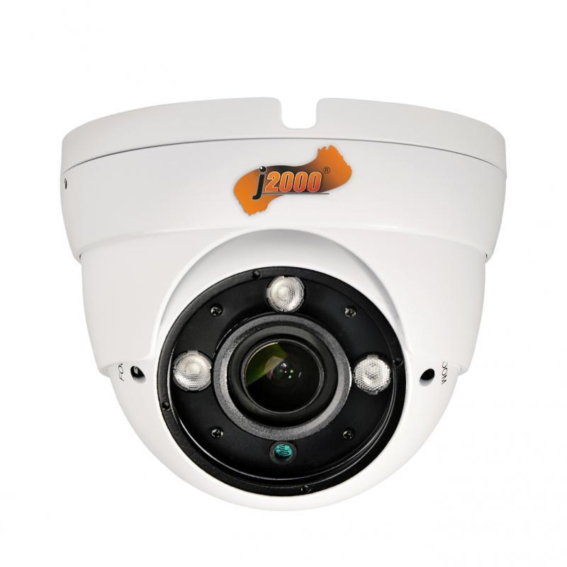 Антивандальная купольная MHD видеокамера J2000-MHD2Dm30 (2,8-12) L.1