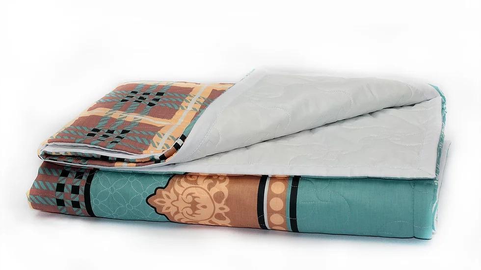 Покрывало Стеганый текстиль Нежность г.Чебоксары Настурция разноцветный ртутный домашний текстиль mercury постельные принадлежности хлопок хлопок хлопок аккумуляторная бумага одеяло покрывало малый flyer double 1 5m bed