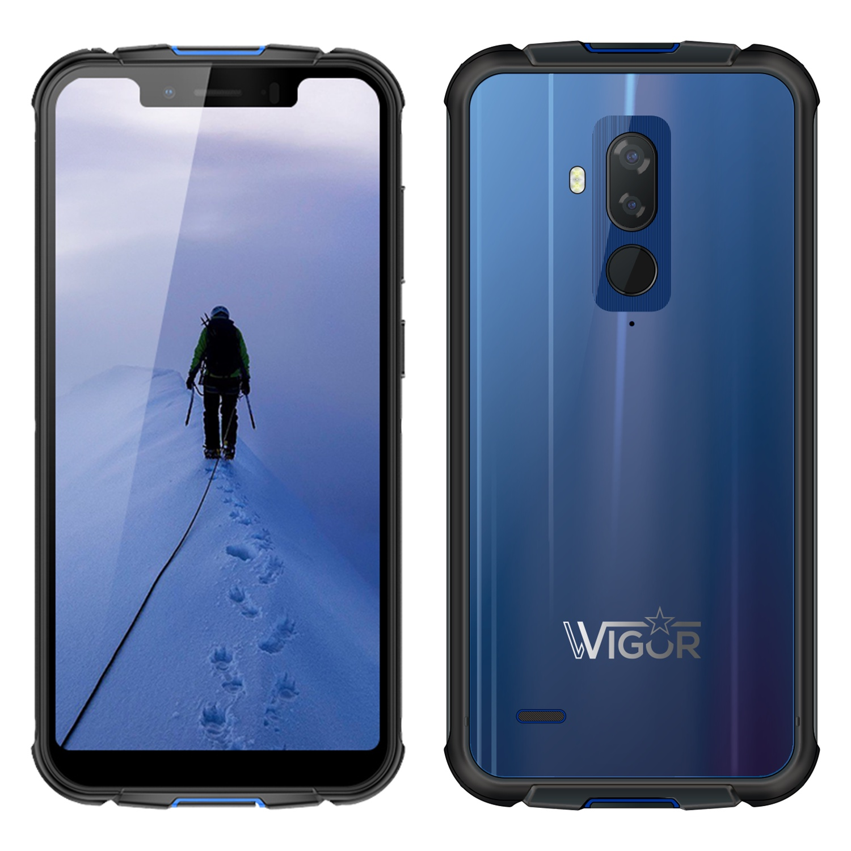 Смартфон Wigor V5 4/64GB, синий