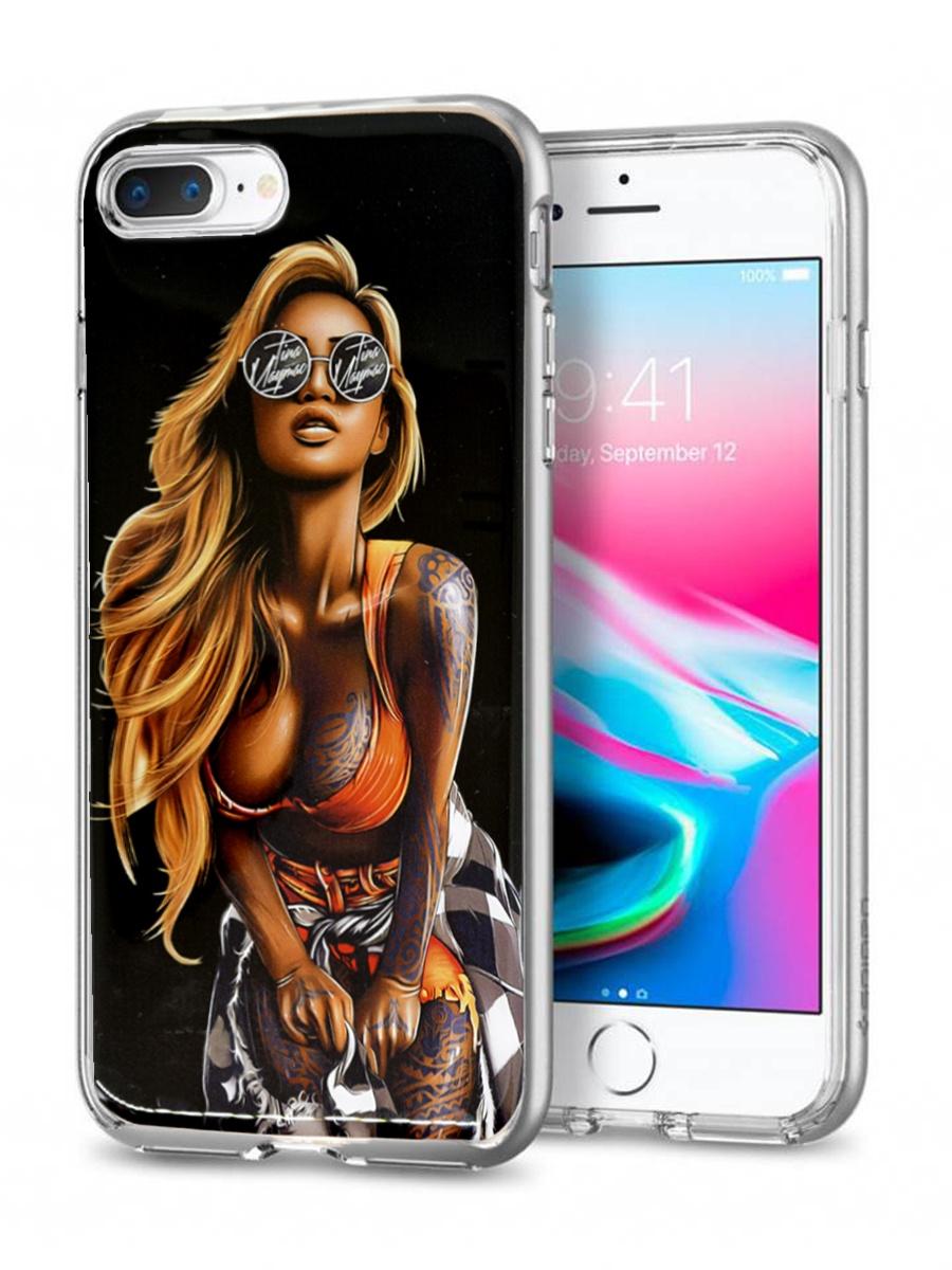 YOHO. Чехол/бампер виниловый для iPhone 7 Plus/8 Plus чехол бампер yoho для iphone 7 8 ychi78qw белый