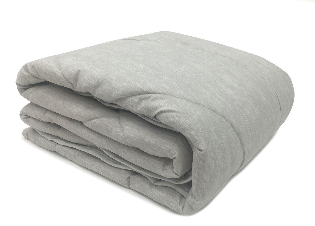 Одеяло Daily by T Лен Кантри, стеганое, 20.04.15.0187, серый, 140 х 200 см одеяла daily by t одеяло шерстяное всесезонное 140х200 см