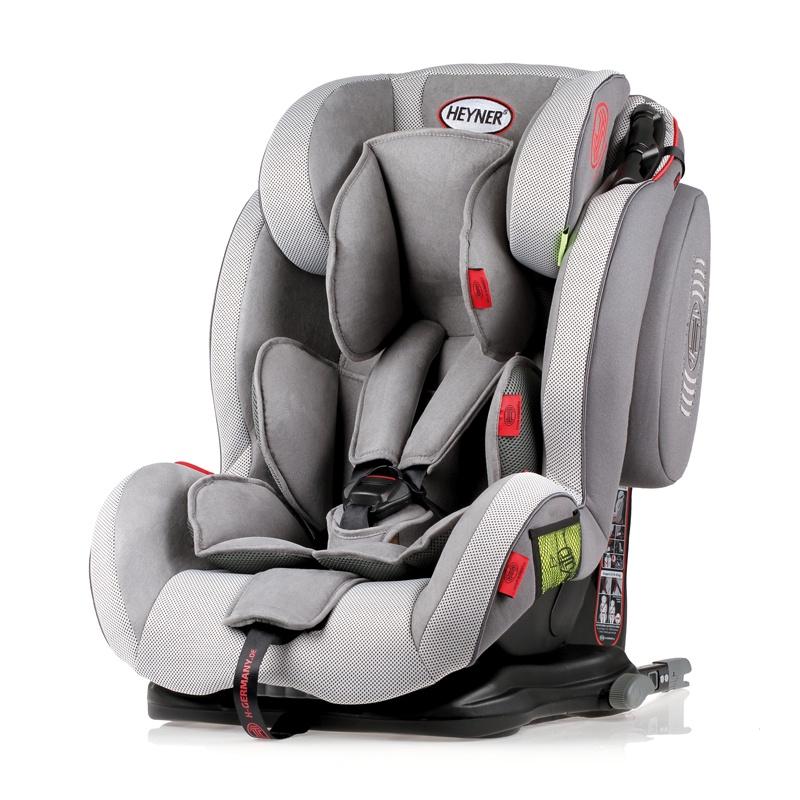 Детское автокресло HEYNER Capsula MultiFix ERGO 3D гр. 123 Koala Grey автокресло 123