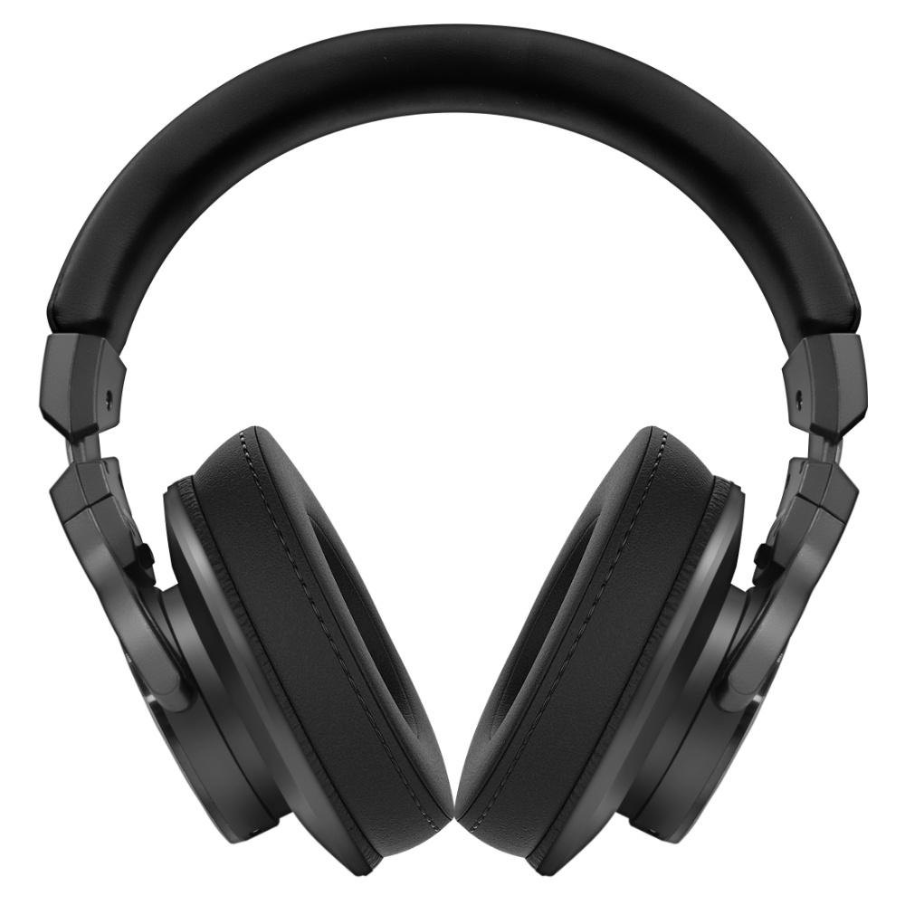 лучшая цена Беспроводные наушники Ginzzu Headphone GM-871BT, с активным шумоподавлением, черный