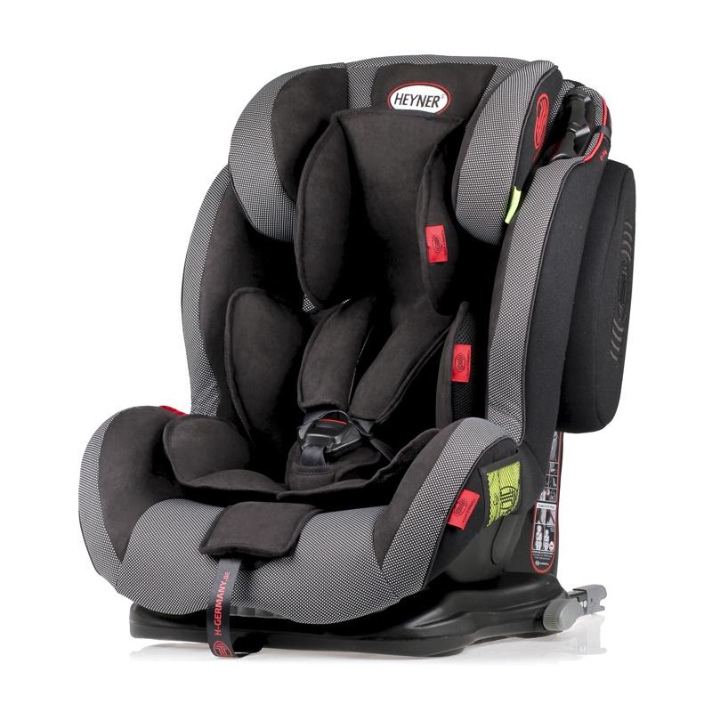 Детское автокресло HEYNER Capsula MultiFix ERGO 3D гр. 123 Pantera Black автокресло 123