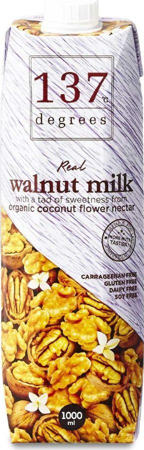 Растительное молоко 137 Degrees Из грецкого ореха, 1 л