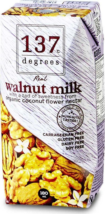Растительное молоко 137 Degrees Из грецкого ореха, 180 мл
