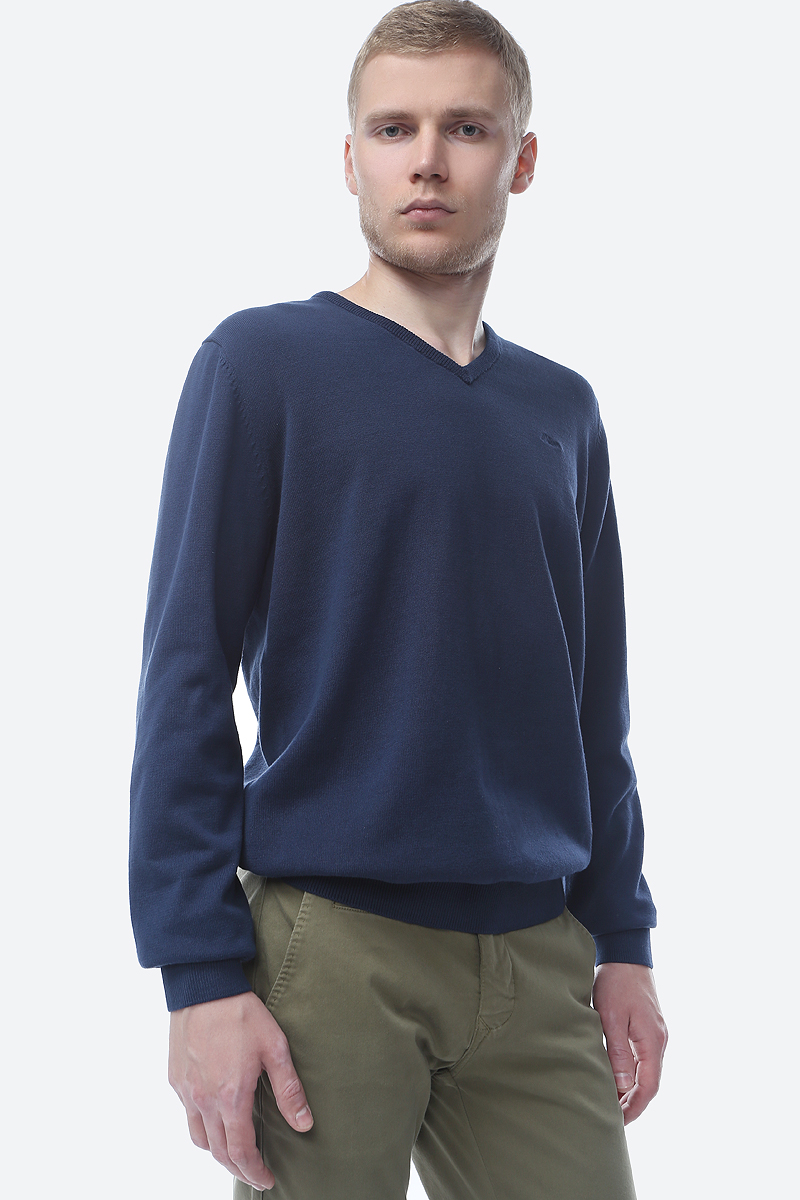 Пуловер мужской S.Oliver Red Label, цвет: голубой. 03.899.61.4543_5798. Размер XL (52/54) цена