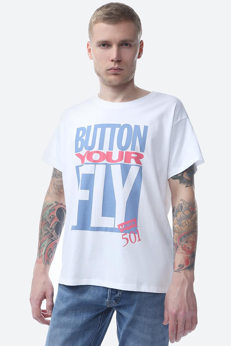 Футболка женская Levi's®, цвет: белый. 5658000140. Размер S (44) футболка женская levi s® цвет белый 3938900080 размер xl 50