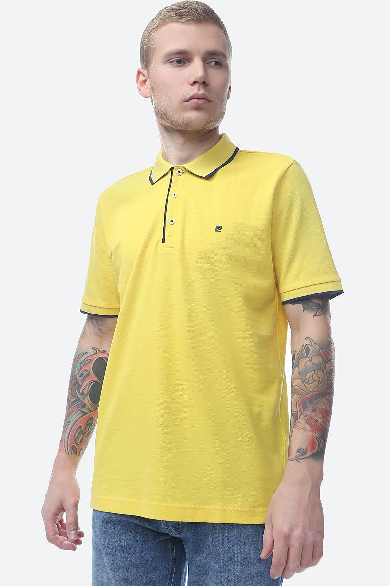 Поло мужское Pierre Cardin, цвет: оранжевый. 046.52034.91235.4082. Размер S (46) цены онлайн