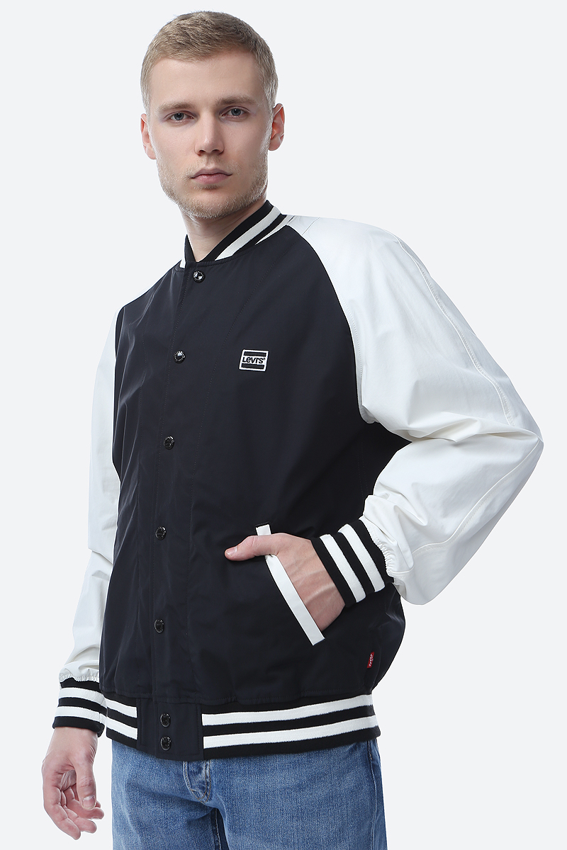 Куртка мужская Levi's®, цвет: черный. 5657400010. Размер M (48) куртка женская befree цвет черный 1831133607 50 размер m 46