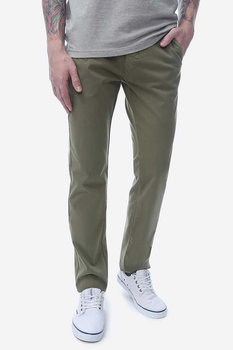 цена Брюки мужские Pierre Cardin, цвет: зеленый. 041.3375-7.2000.76. Размер 32-32 (48-32) онлайн в 2017 году
